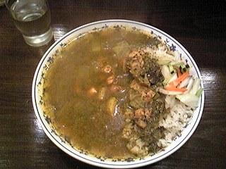 アッチャ@町田でインド人もびっくり!チキンとほうれんそうカレー