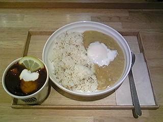 Soup Stock Tokyo@大船で豆と半熟玉子の春カレー&ボルシチ